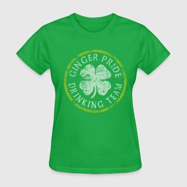 Ginger Pride Ginger Pride Drinking Team St Patrick's Day - Women's T-Shirt