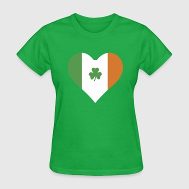 Irish Heart - Irish Pride - Women's T-Shirt