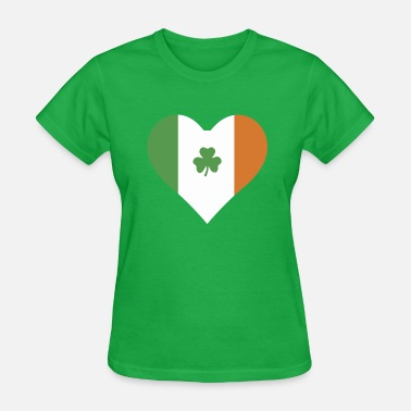 Irish Heart Irish Heart - Irish Pride - Women's T-Shirt