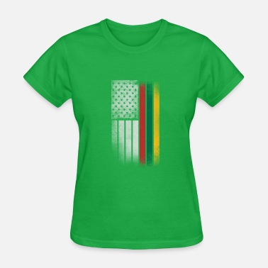 Lithuanian Flag Lithuanian American Flag - Women's T-Shirt