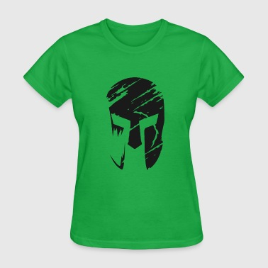 Defense Of The Ancients Spartan Helmet 3 Black - Women's T-Shirt