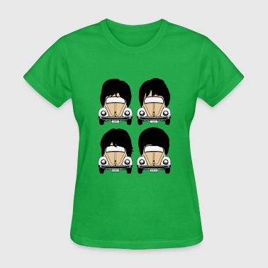 Fab Four on the Floor - Women's T-Shirt