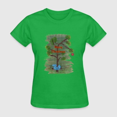 Charlie Merry Christmas - Women's T-Shirt