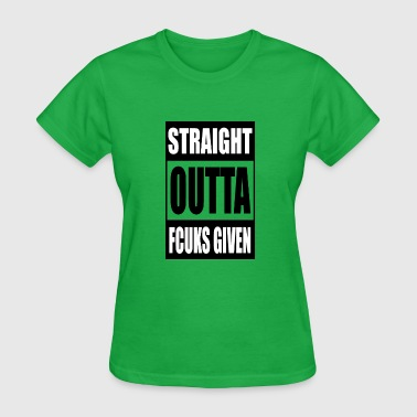 Fuck Iraq Outta Fucks Given - Women's T-Shirt