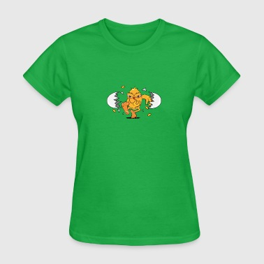 a newly hatched chick - Women's T-Shirt