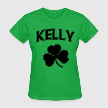 Kelly Irish Shamrock St Patricks Day - Women's T-Shirt