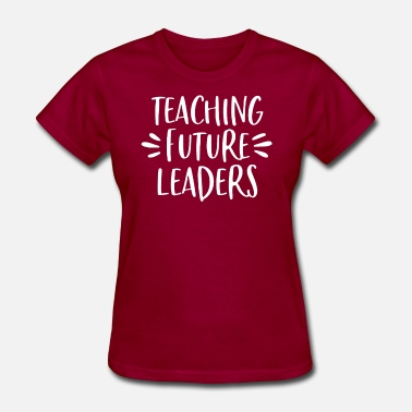Future Teaching Future Leaders | Teacher Shirt - Women's T-Shirt