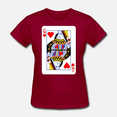Hearts Queen Of Hearts Couple - Women's T-Shirt