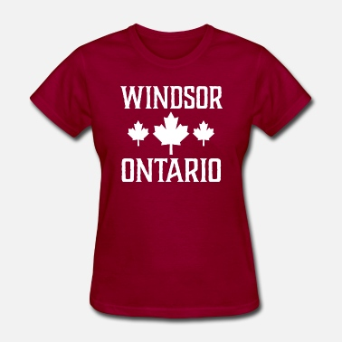 Windsor Ontario Canada Windsor Ontario Canada - Women's T-Shirt