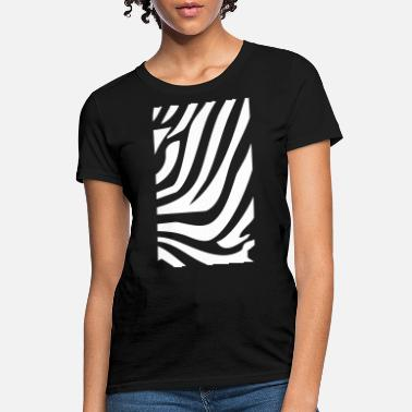Zebra Zebra Pattern - Women's T-Shirt