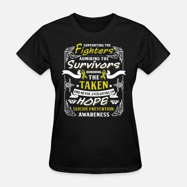 Awareness supporting the fighters admiring the survivors hon - Women's T-Shirt
