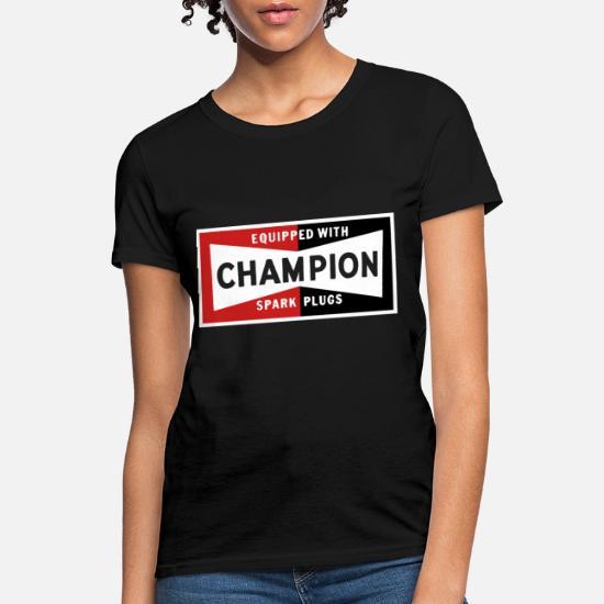 Champion* Motor Sports Retro Spark Plug Shirts For Men /& Women 100/% Cotton S-3XL