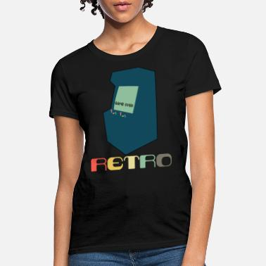Styles Retro Arcade Style Gaming - Women's T-Shirt