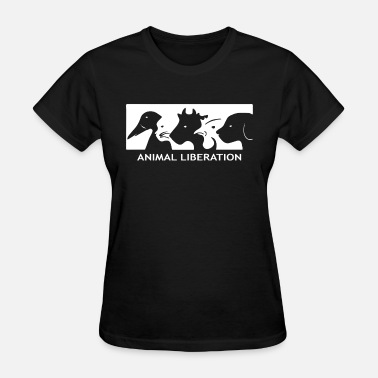 Anime Anime Sportswear ALF Animal Liberation Front animal rights activist - Women's T-Shirt