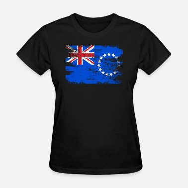 Cook Island Patriot Cook Islands Shirt Gift Country Flag Patriotic Travel Oceania Light - Women's T-Shirt