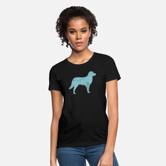 Owner T-Shirts - Kooikerhondje Dog Owner Cool Dog Gift Idea - Women's T-Shirt black