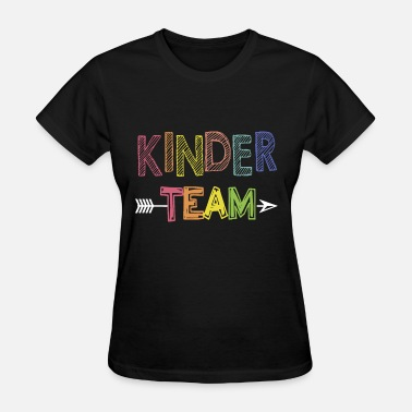 Kinder kinder team teacher - Women's T-Shirt