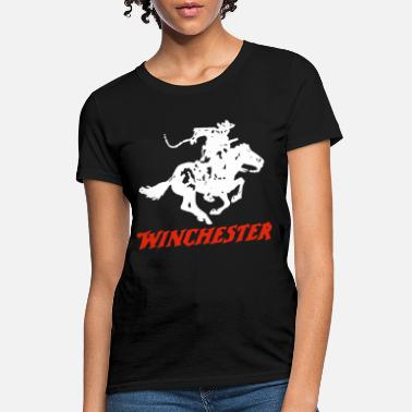 Rifle Neck Men New Winchester Rifle Men s Comes In Many - Women's T-Shirt