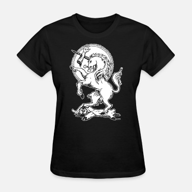 Mythical Mythical Beast Wrathful Unicorn Vengeful Deadly Mythical Beast Vi - Women's T-Shirt