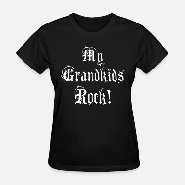 My Grand Kids Rock dj T Shirts - Women's T-Shirt