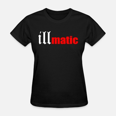 Apple Hip Hop Illmatic Nas Hip Hop Rap Dj Trap 2 Pac Biggie Kany - Women's T-Shirt