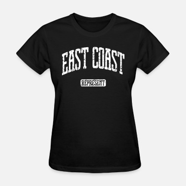 Harp Boston EAST COAST Represent New York Boston DC Baltimore - Women's T-Shirt