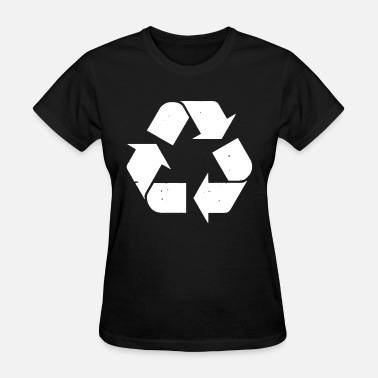 Recycled Recycle Recycling Logo Mens Recycle Womens Recycle - Women's T-Shirt