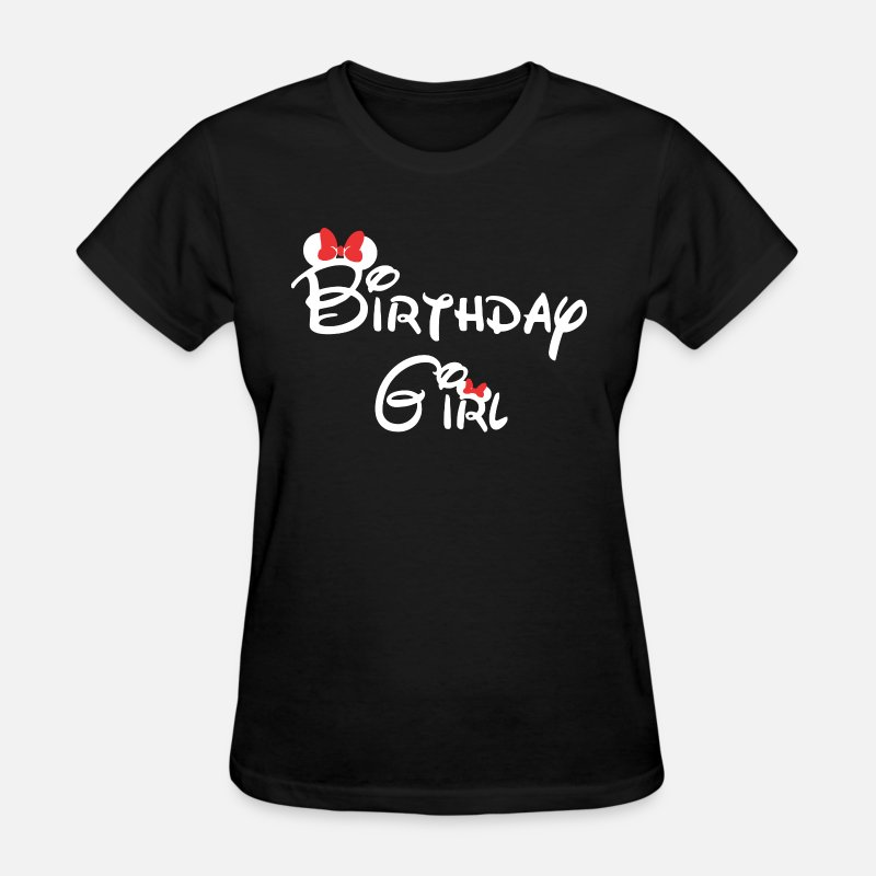 Disney Birthday Girl Boy Pirate Womens T Shirt