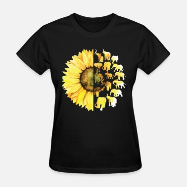 Sex Animal Classic Limited edition Classic sunflower yelow flower far - Women's T-Shirt