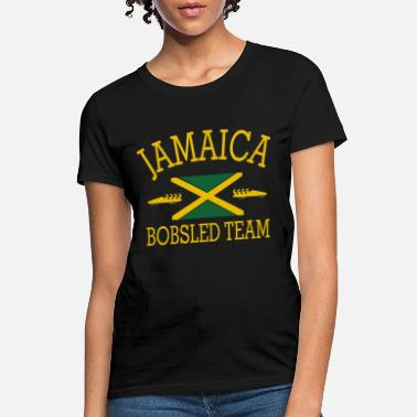 Bobsled JAMAICA mens Tank Top all sizes available funny co - Women's T-Shirt