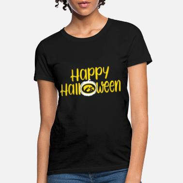 60dbdb3e299 Iowa Hawkeyes happy halloween iowa hawkeye tank halloween - Women's ...
