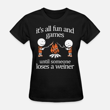 Enders Game it is all fun and games until someone loses a wein - Women's T-Shirt