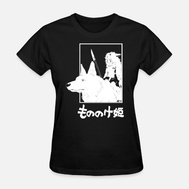 Studio Ghibli Princess Mononoke Inspired by the anime Graphic Te - Women's T-Shirt