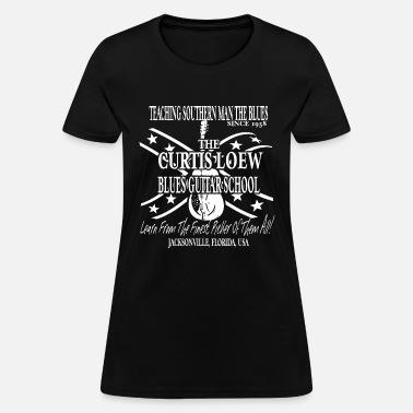 92a9c7c3 Lynyrd Skynyrd Inspired Ronnie Van Zant Curtis Loe Women's T-Shirt ...