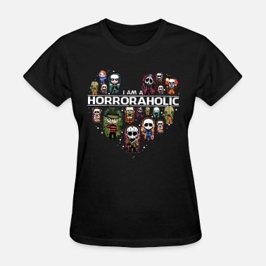Rela i am horroraholic game coputer phon funny ove rela - Women's T-Shirt