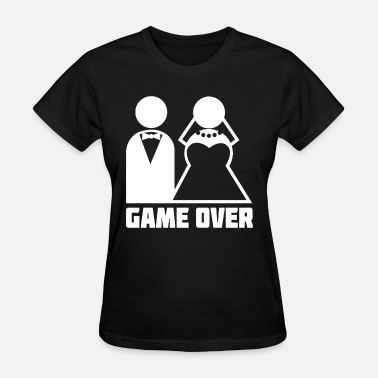 Bachelor Party Slut Game Over bachelor party married become husband wi - Women's T-Shirt