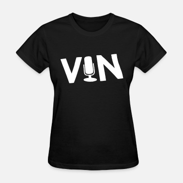 Dodgers Funny Original Vin Scully Microphone Dodgers La Los Ange - Women's T-Shirt