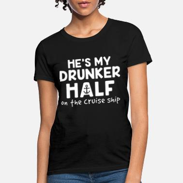 he is my drunker half papa t shirts - Women's T-Shirt