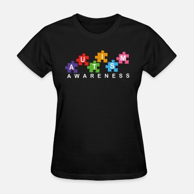 Autism For Toddlers Autism Awareness autism atheist - Women's T-Shirt