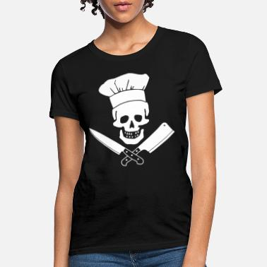 Head Chef Funny Cooking Butcher Culinary Cooking S - Women's T-Shirt