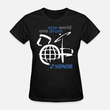 Sonor One World One Drum Sonor Snare Maple New Cotton Dr - Women's T-Shirt
