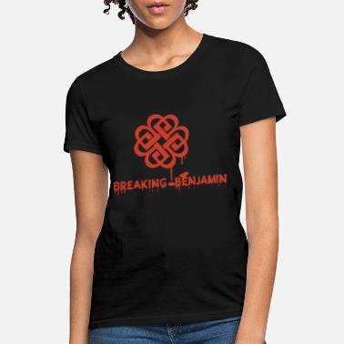 Benjamin breaking benjamin band women and men lover tour ta - Women's T-Shirt