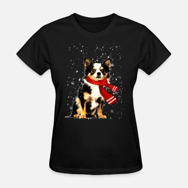 Captain Cold Chihuahua winter cold snow animal my best friend p - Women's T-Shirt