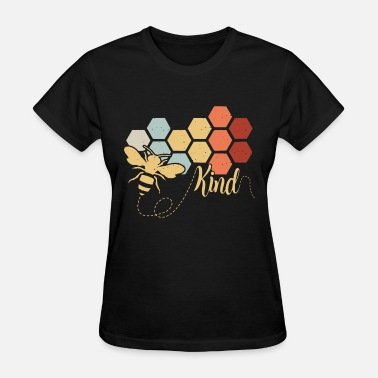 Bee bee kind animals build nest colors working hard fa - Women's T-Shirt