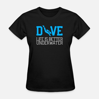 Cool Diving Diving - Women's T-Shirt