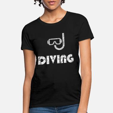 Diving Mask Diving Mask - Women's T-Shirt