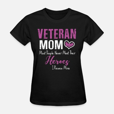Veteran Mom Apparel veteran mom - Women's T-Shirt