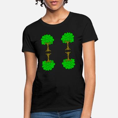 Linden Beautiful nature. Tree for environment and linden - Women's T-Shirt