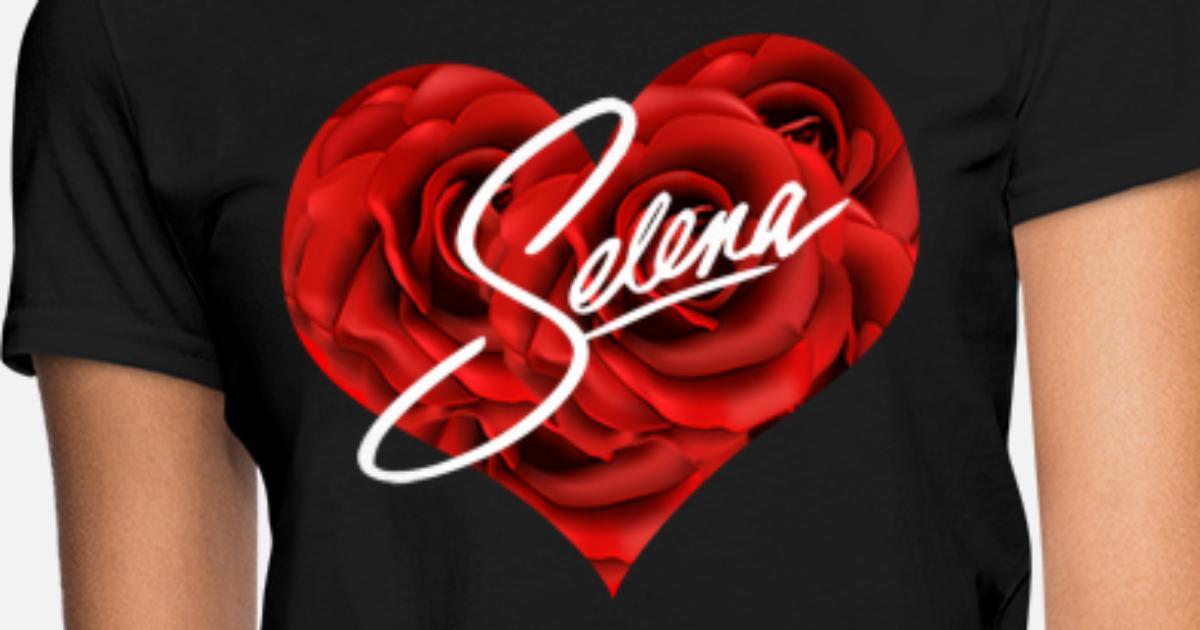 621550f2 Selena heart Women's T-Shirt | Spreadshirt