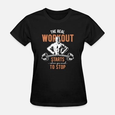 Bench Body Building Workout Body building Bodybuilder fitness - Women's T-Shirt